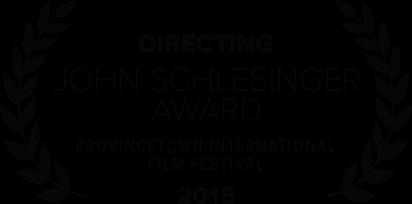 John Schlesinger Award - 2015